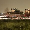 桃花台線の桃花台東駅周辺撤去工事(2018年12月11日):片側高架が下ろされる - 1