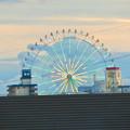 写真: ららぽーと名古屋みなとアクルス駐車場から見た景色 - 2:シートレインランドの大観覧車