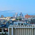 ららぽーと名古屋みなとアクルス駐車場から見た景色 - 16:名駅ビル群