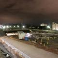 桃花台線の桃花台中央公園南側高架撤去工事(2018年12月13日):撤去予定の高架の撤去が完了 - 1