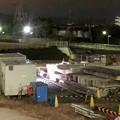 桃花台線の桃花台中央公園南側高架撤去工事(2018年12月13日):撤去予定の高架の撤去が完了 - 2