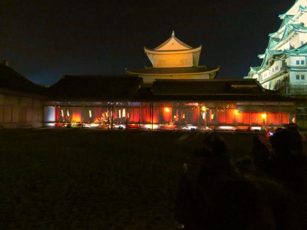 名古屋城×NAKED NIGHT CASTLE OWARI EDO FANTASIA 2018:本丸御殿の巨大横長プロジェクション・マッピング - 5