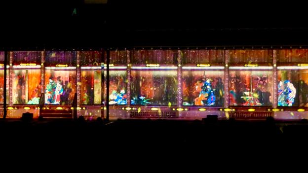 名古屋城×NAKED NIGHT CASTLE OWARI EDO FANTASIA 2018:本丸御殿の巨大横長プロジェクション・マッピング - 13