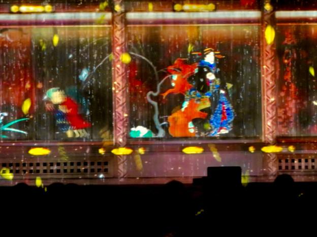 名古屋城×NAKED NIGHT CASTLE OWARI EDO FANTASIA 2018:本丸御殿の巨大横長プロジェクション・マッピング - 14