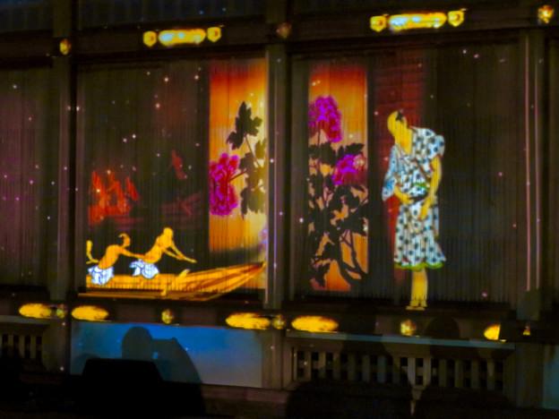 名古屋城×NAKED NIGHT CASTLE OWARI EDO FANTASIA 2018:本丸御殿の巨大横長プロジェクション・マッピング - 18