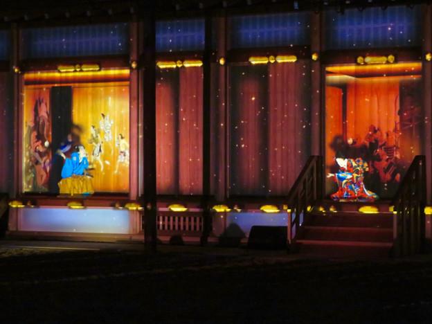 名古屋城×NAKED NIGHT CASTLE OWARI EDO FANTASIA 2018:本丸御殿の巨大横長プロジェクション・マッピング - 23
