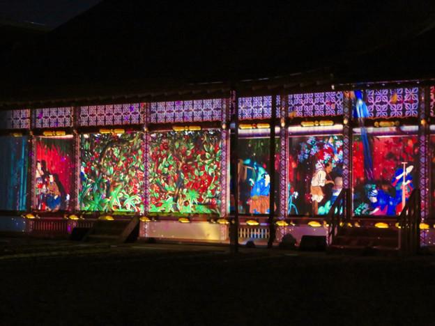 名古屋城×NAKED NIGHT CASTLE OWARI EDO FANTASIA 2018:本丸御殿の巨大横長プロジェクション・マッピング - 25