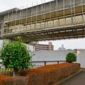 桃花台線の桃花台東駅周辺撤去工事(2018年12月23日):もう片方の高架も撤去開始 - 6