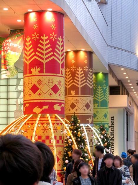 名古屋パルコ:「ピカ・ブイカフェ」コラボの今年(2018年)のクリスマスデコレーション - 2