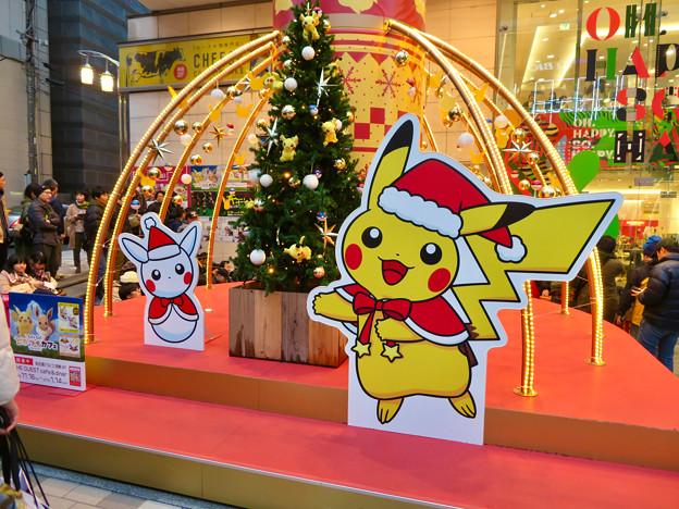 名古屋パルコ:「ピカ・ブイカフェ」コラボの今年(2018年)のクリスマスデコレーション - 3