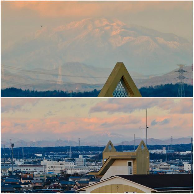 雪を頂いてた御嶽山(2018年12月)- 5