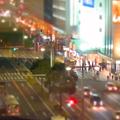大名古屋ビルヂング5階から見下ろした夜の名駅通 - 1