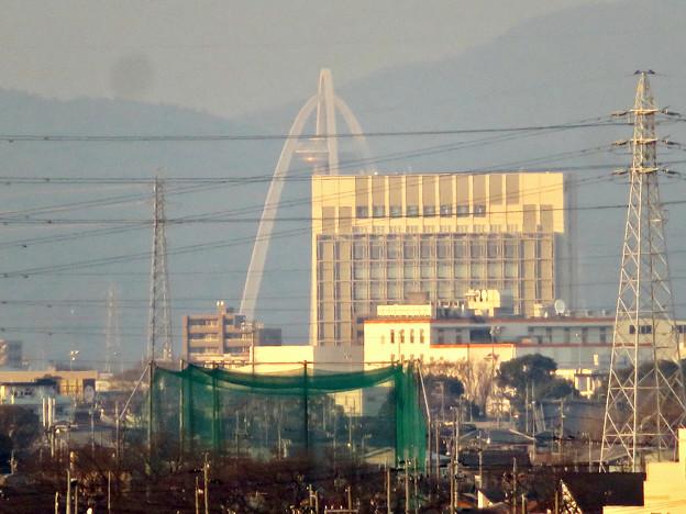 清洲城天守閣から見た景色:ツインアーチ138 - 2