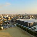 清洲城天守閣から見た景色:名古屋方面 - 1