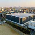 清洲城天守閣から見た景色:名古屋方面 - 2