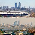 清洲城天守閣から見た景色:2012年と2019年の名駅周辺比較 - 5