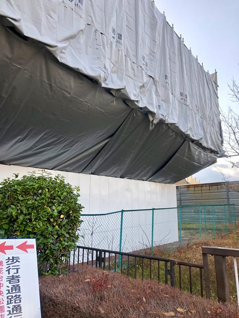 桃花台線の桃花台東駅周辺撤去工事(2019年1月8日) - 13