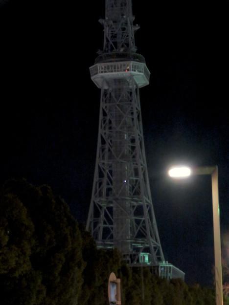 改修工事のためイルミネーションが消えてた名古屋テレビ塔(2019年1月13日) - 13