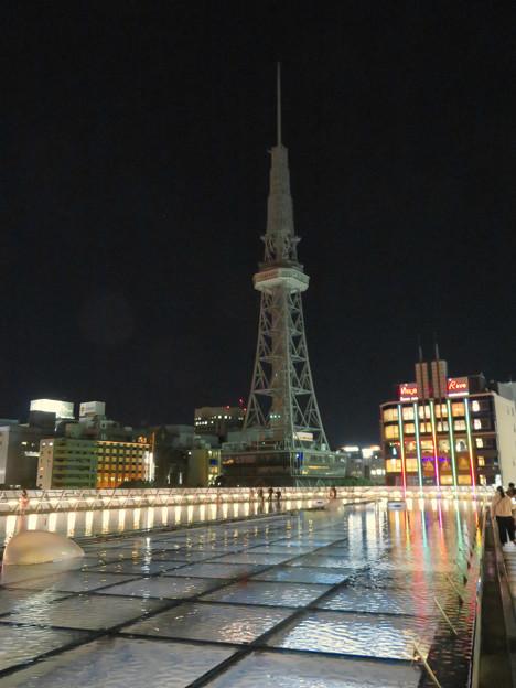 改修工事のためイルミネーションが消えてた名古屋テレビ塔(2019年1月13日) - 16