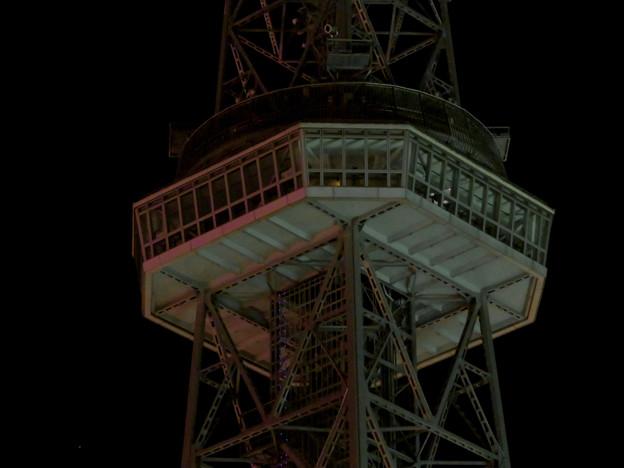 改修工事のためイルミネーションが消えてた名古屋テレビ塔(2019年1月13日) - 18