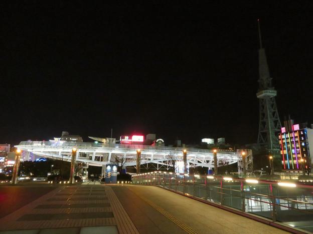 改修工事のためイルミネーションが消えてた名古屋テレビ塔(2019年1月13日) - 21