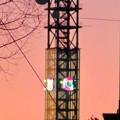 大須商店街:大須観音手前から見た中京テレビ本社ビルの電波塔 - 3