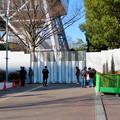 Photos: 再整備工事中で封鎖されてた久屋大通公園(2019年1月27日) - 13:名古屋テレビ塔前でポケモンGoをしてる(?)人たち
