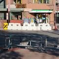 Photos: 再整備工事中で封鎖されてた久屋大通公園(2019年1月27日) - 14:封鎖された横断歩道
