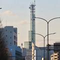 Photos: 西大須交差点から見えた中京テレビ本社の塔 - 2