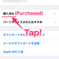 iOS 12 App Store:Purchased