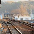 JR可児駅から見た太多線の線路(多治見方面)