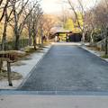 Photos: オフシーズン(2月)の花フェスタ記念公園 - 75:茶室「織部庵」入り口
