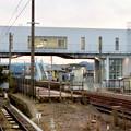 名鉄新可児駅から見たJR可児駅