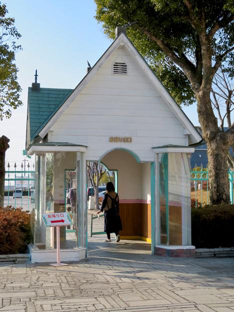 お菓子の城 No - 66:お城の出口