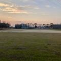 整備工事中の朝宮公園のグランド(2019年3月22日) - 1
