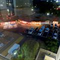 名古屋市公会堂から見下ろした鶴舞公園花まつりの屋台 - 1