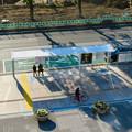 Photos: 新たに整備されたオアシス21前のバス停 - 2