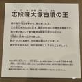 Photos: しだみ古墳群ミュージアム「SHIDAMU(しだみゅー)」展示室 No- 29:志段味大塚古墳の王の想像模型の説明