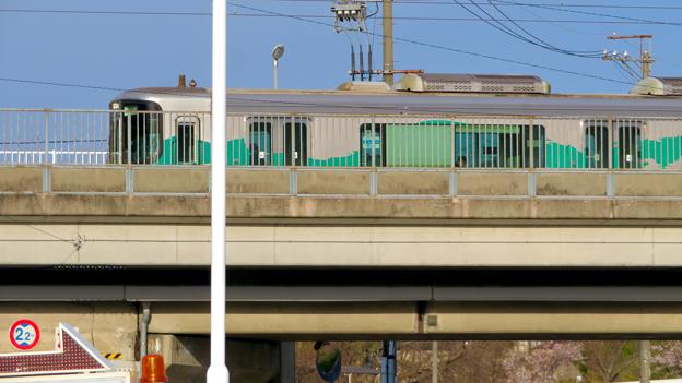 愛知環状鉄道 中水野駅 - 10:停車した車両