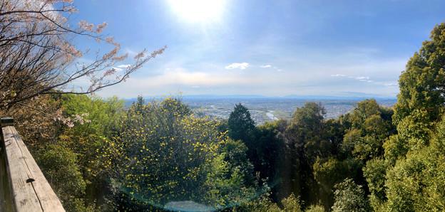尾張戸神社の展望台から見た景色 - 31:パノラマ