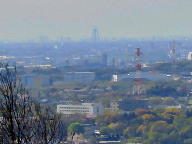 尾張戸神社の展望台から見た景色 - 34:ツインアーチ138