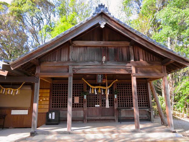 尾張戸神社 - 21:拝殿