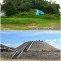 Photos: 2008年と2019年の志段味大塚古墳 - 2