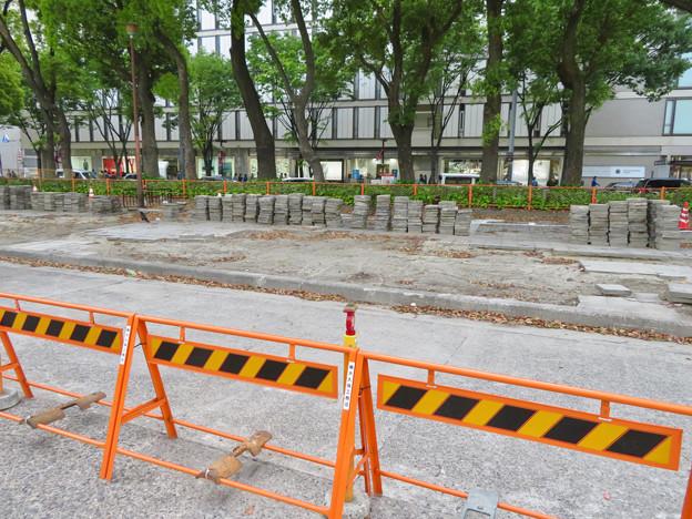 改装工事中の旧・栄バスターミナル跡地 - 3