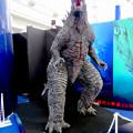 Photos: オアシス21で開催中の「ゴジラ・ウィーク・ナゴヤ」 - 8:会場横に展示されてたゴジラ
