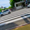 Photos: 斜めに撮れた栄の道路
