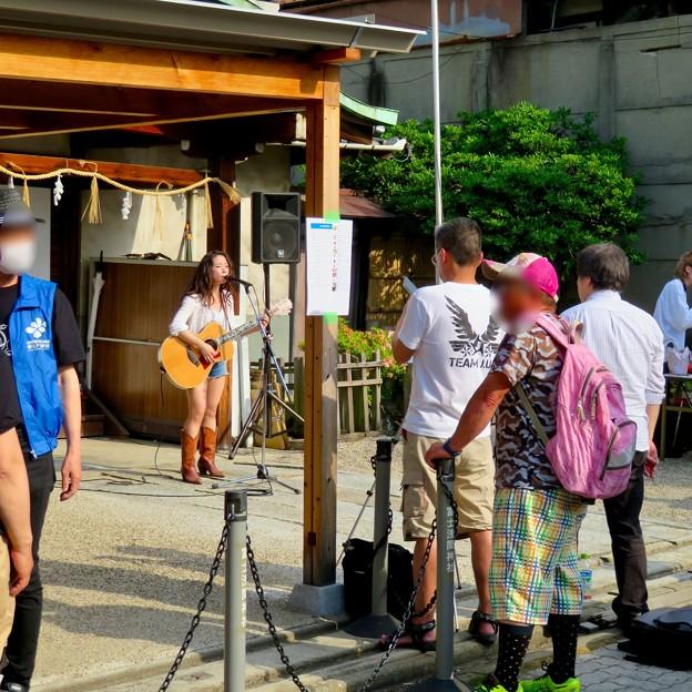 栄ミナミ音楽祭 2019 No - 6:JUNさん(富士浅間神社)