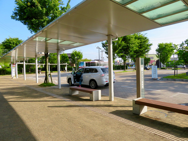 名鉄新鵜沼駅 - 10:タクシー乗り場