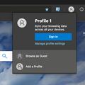 Photos: Microsoft Edge for Mac(Canaryビルド 76.0.161.0)- 11:プロファイル