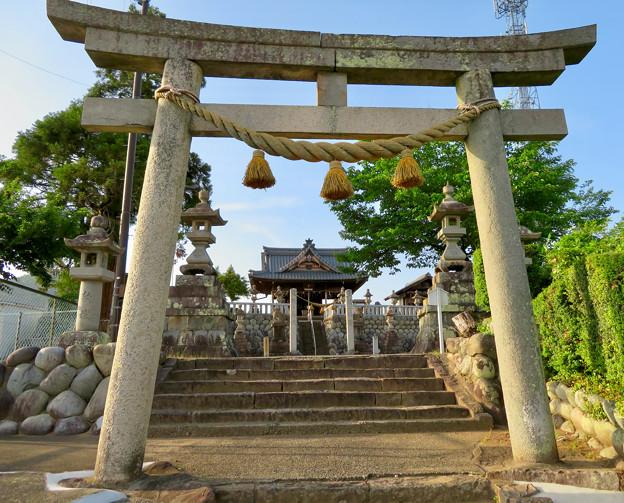 鵜沼宿にある二ノ宮神社 No - 4